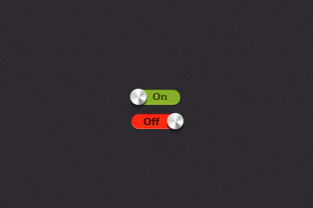 instantShift - Beautiful Switch, Toggle PSD Designs