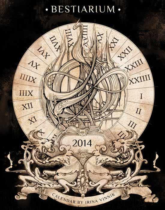 Bestiarium Calendar 2014