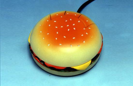 Computer Mouse – Hamburger Shape
