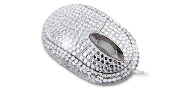 Diamante USB Mouse