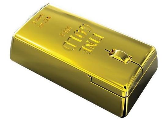 Gold Bullion Computer Mouse