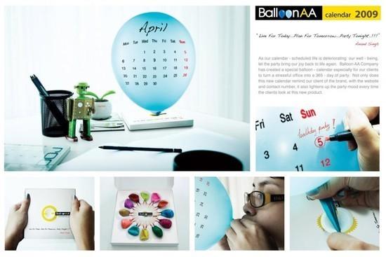 Balloon AA: Calendar