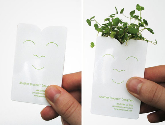 Another Bloomin' Designer's Business Card