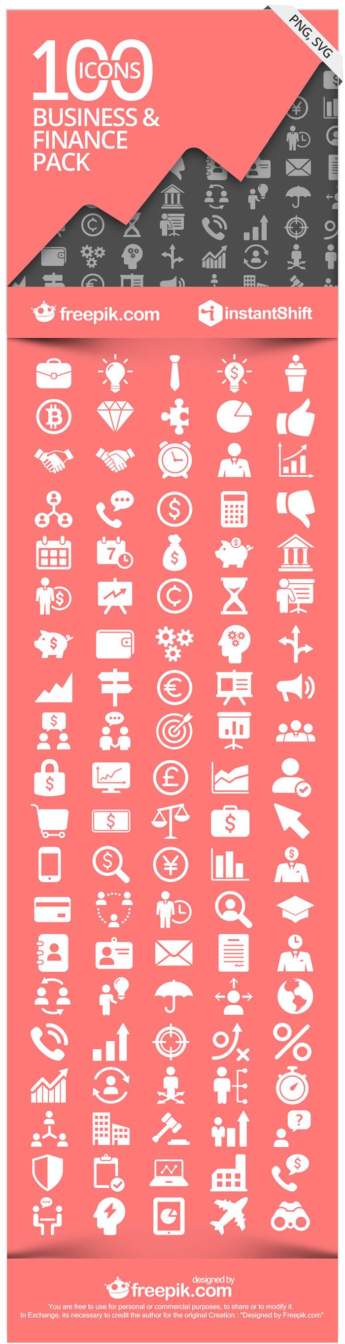 FinBiz - The Free Business & Finance Icon Set