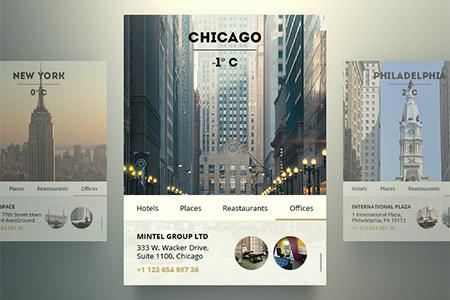 Creative Web Design Widget PSD Designs