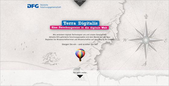 Terra Digitals Website
