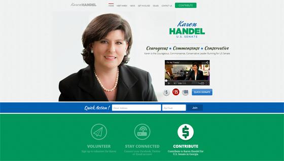 Karen Handel for U.S. Senate