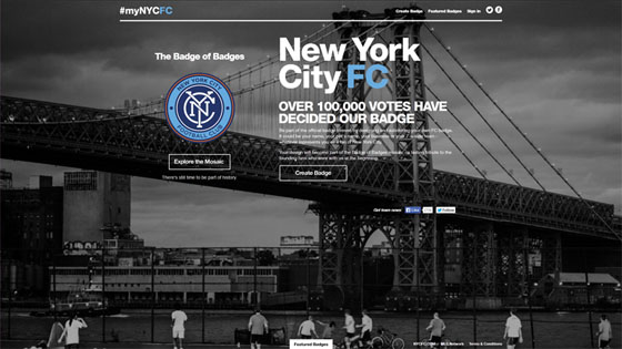 Black and White Website with Blue Accent Color