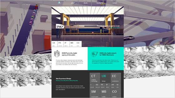 Dan Paris Website with Creative Design and Bright Accent Color