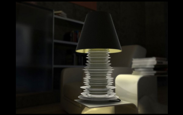 Dishlamp is Made of Plates