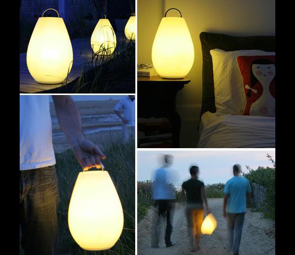 Vessel Luau Rechargeable LED Lamp