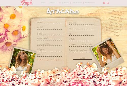 PapúVerão Fashion Website