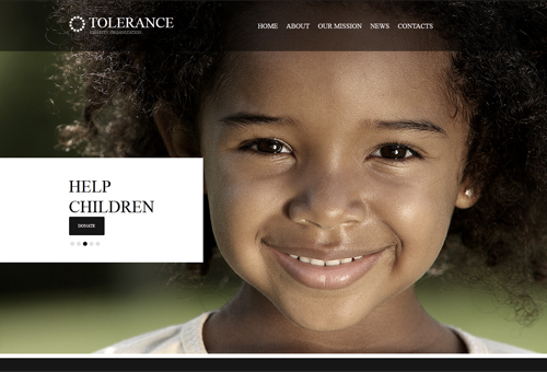 Emotional Website Design with A Full-Screen Image