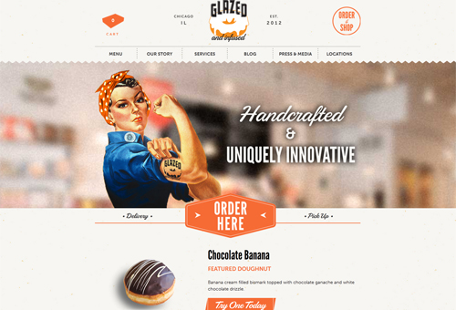 Glazed & Infused Website