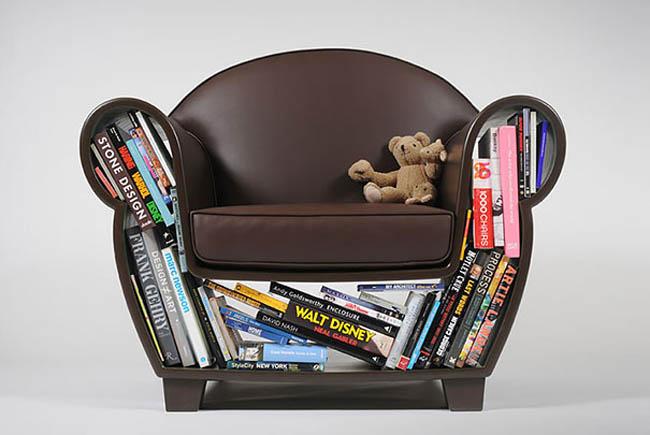 Creative Space-Saving Furniture Design - Hollow Chair