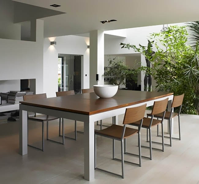 Creative Space-Saving Furniture Design - Fusion Dining And Pool Table