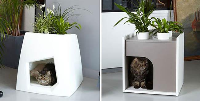 Cat House Planter