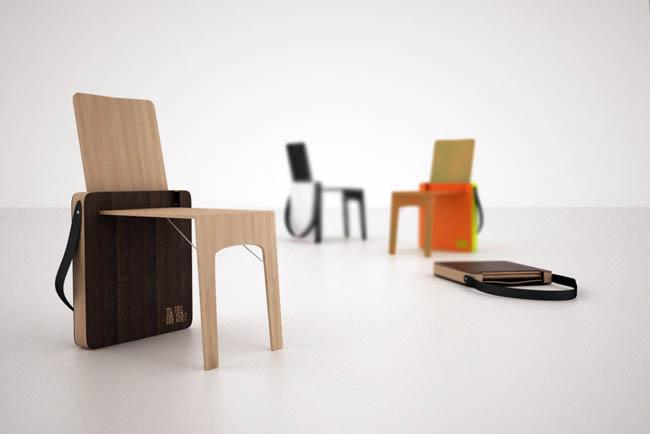 Creative Space-Saving Furniture Design - Bag Chair