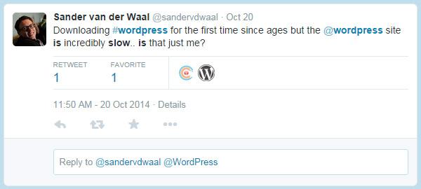 WordPress is Sloooooooooow