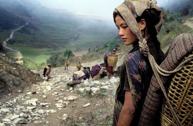 Bruno Morandi captures a tribal Chhetri woman in Nepal. [2009]