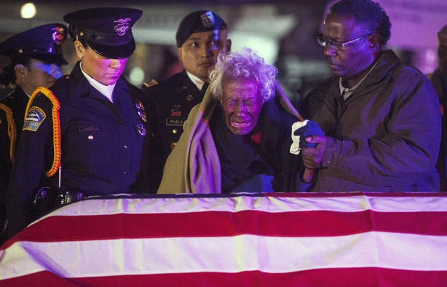 Clara Gantt is reunited with her husband's body after more than 60 years.