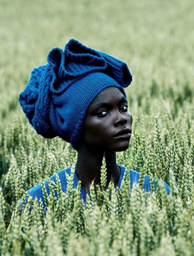 Powerful photos - Jeneil Williams for Vogue Germany