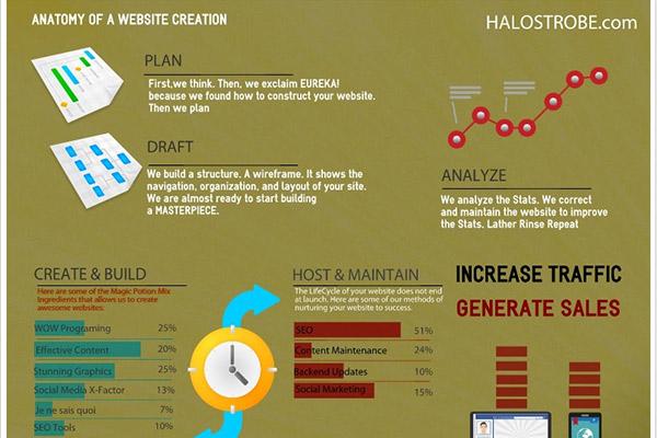 Anatomy of a Website Creation