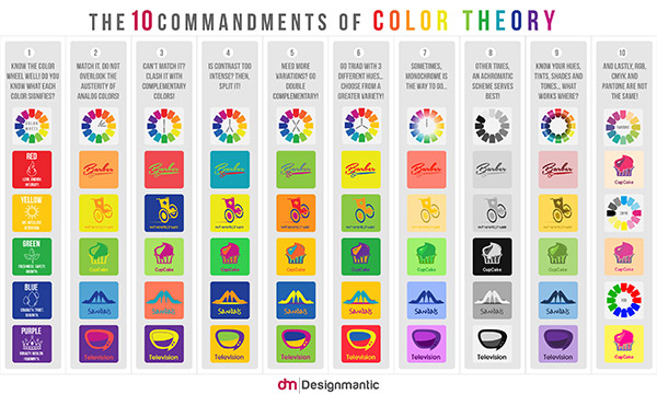 10 Commandments of Color Theory