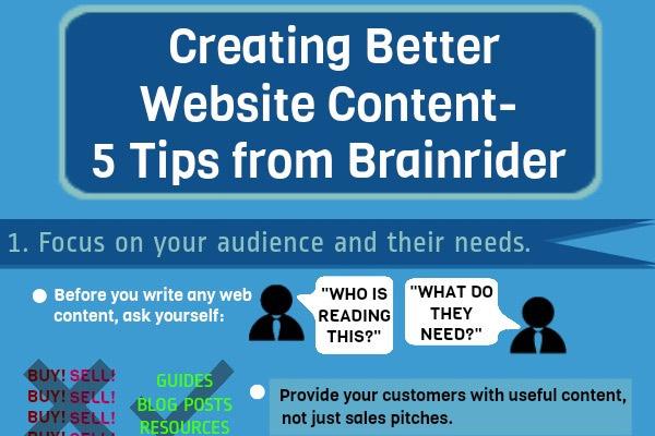 Creating Better Website Content