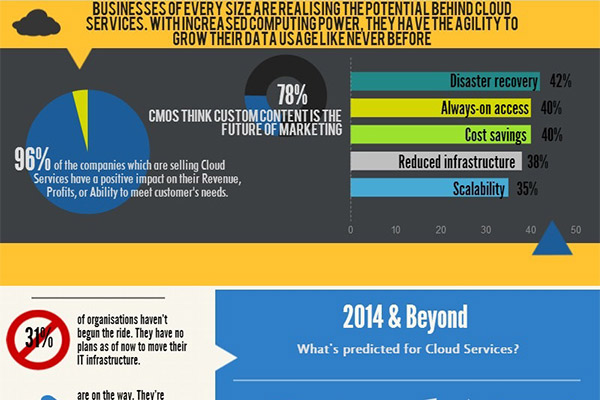 Cloud Hosting on The Up in 2014