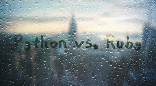 Python and Ruby
