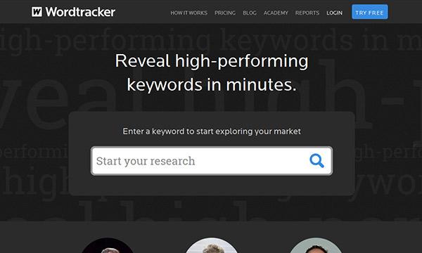 WordTracker Keyword Research Tool