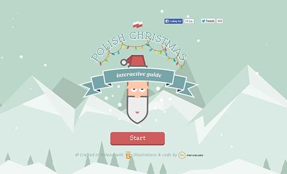 Creative Single Page Website Design