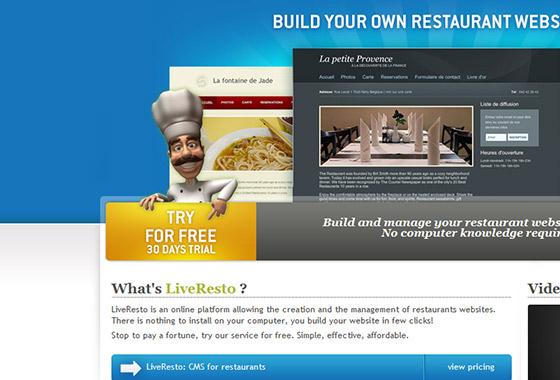 Excellent Sign Up Forms - LiveResto