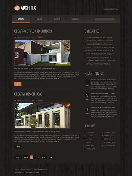 Free Joomla Architecture Company Template