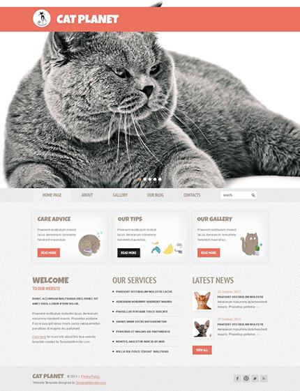 Free WordPress Animal Care Template