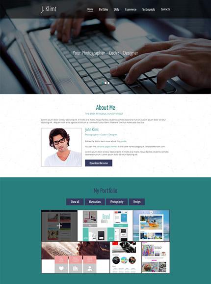 Free HTML5 Portfolio Template