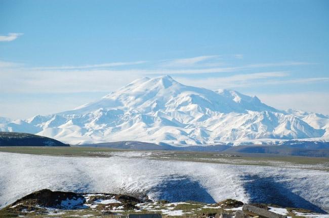 Mighty Elbrus, Kabardino-Balkaria, Russia