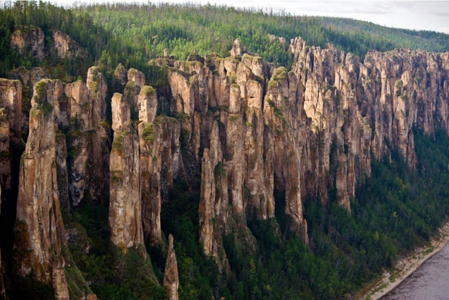 Lena Pillars, Yakutia, Russia