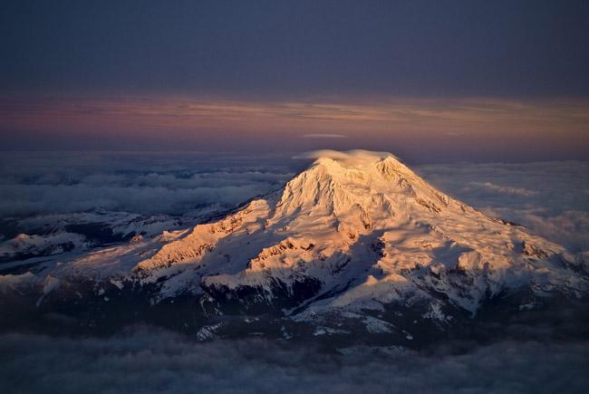 Mt Rainier, Washington, United States.