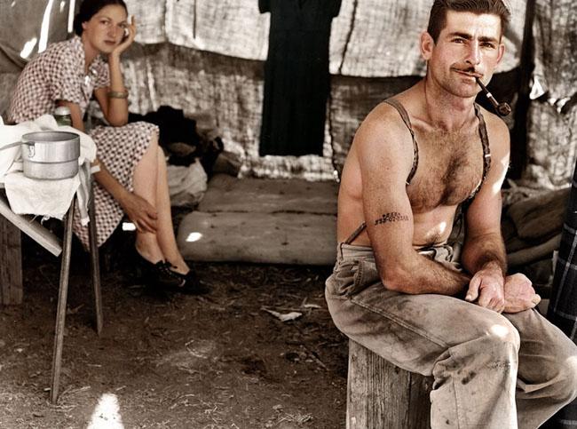 Unemployed lumber worker, circa 1939