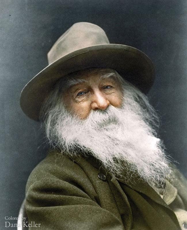 Walt Whitman, 1887