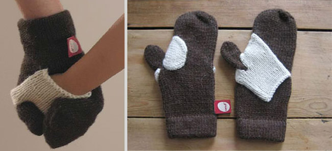 Forget-me-not Kid Mittens