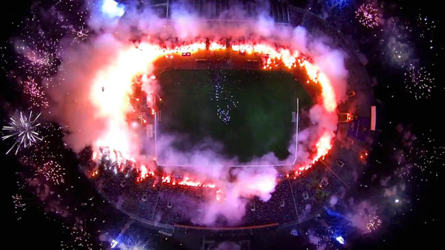 Argentina-Germany World Cup Final. An explosive game