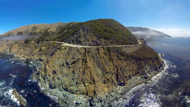 Highway 1, Big Sur, California.