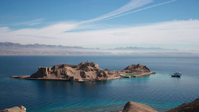 Pharaoh's Island, Sinai, Egypt.