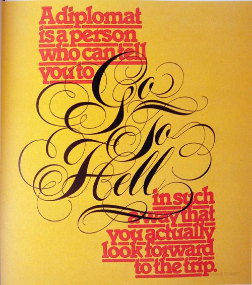 Typography Speaks More Than the Words