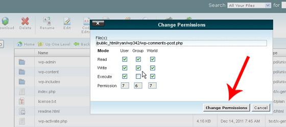 Use Proper File/Folder Permissions
