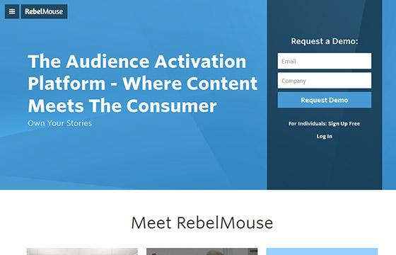 Social Media Tools - Rebel Mouse