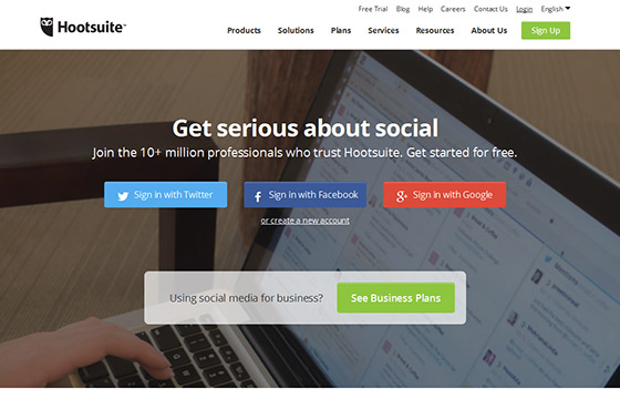 Social Media Tools - Hoot Suite